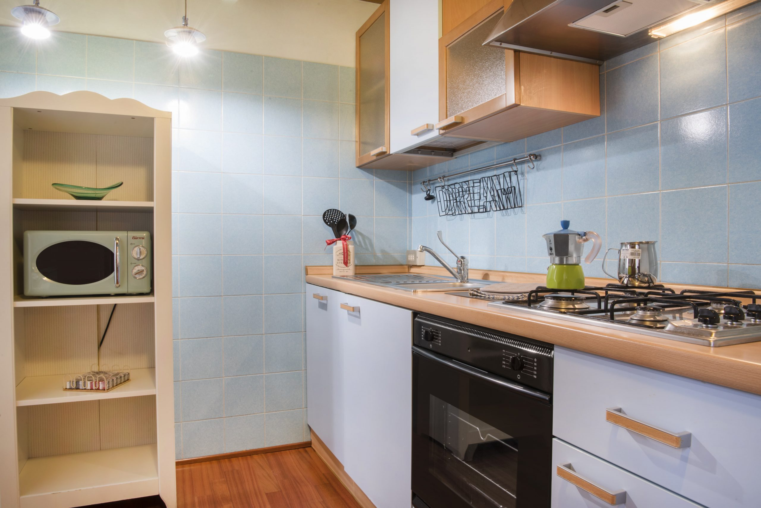 loft chiaralba acquarius cucina