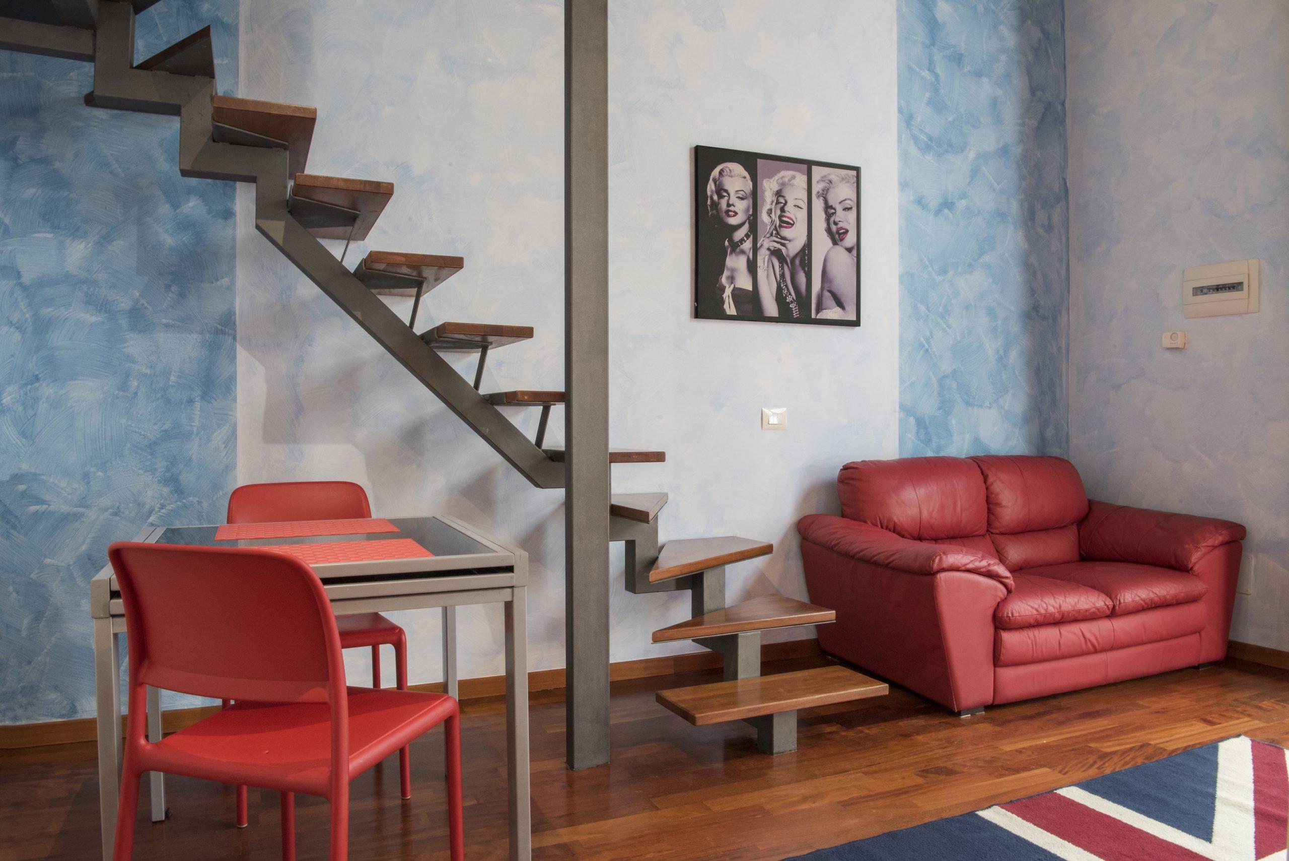 loft chiaralba appartamento sole soggiorno