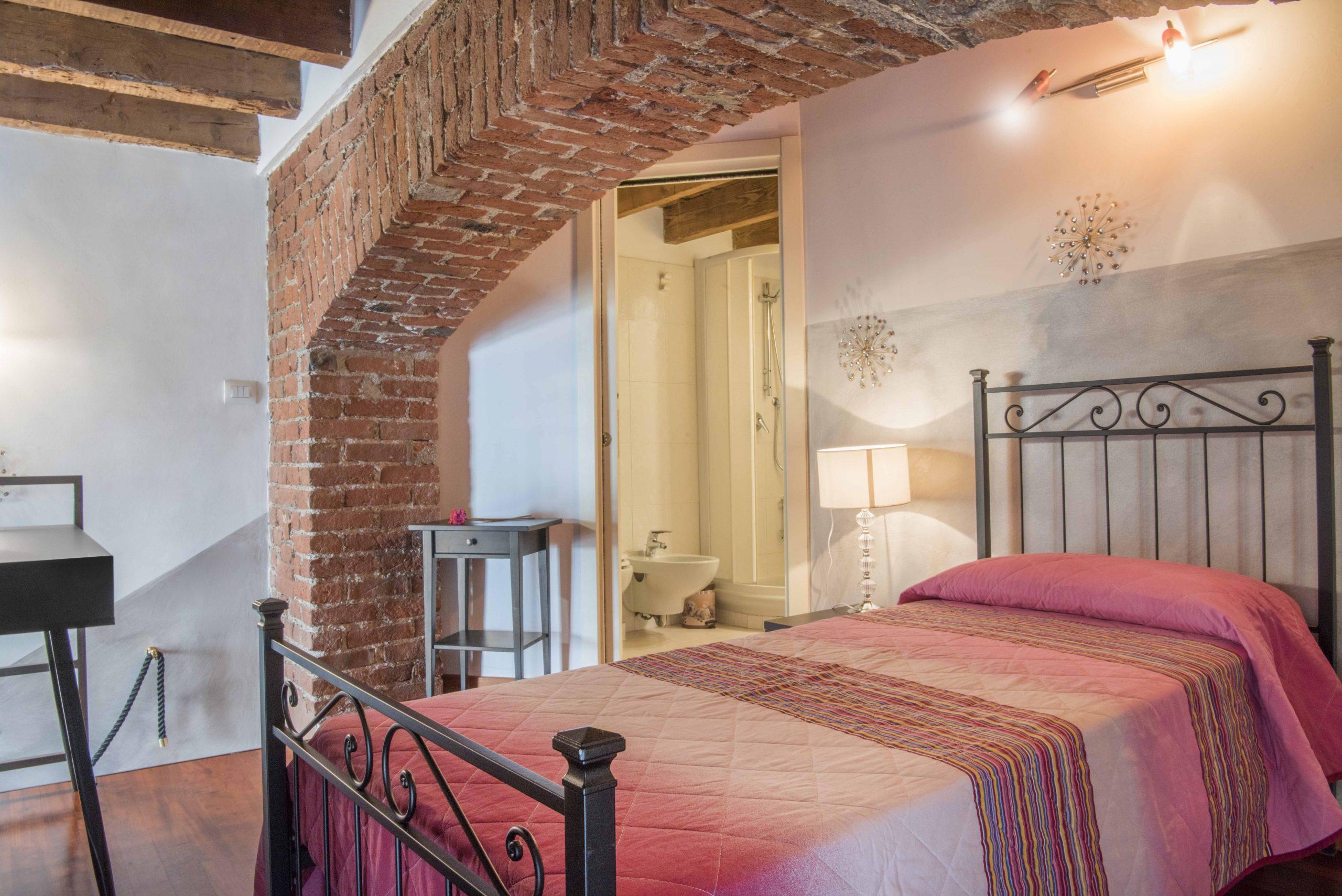 loft chiaralba luna camera da letto soppalco