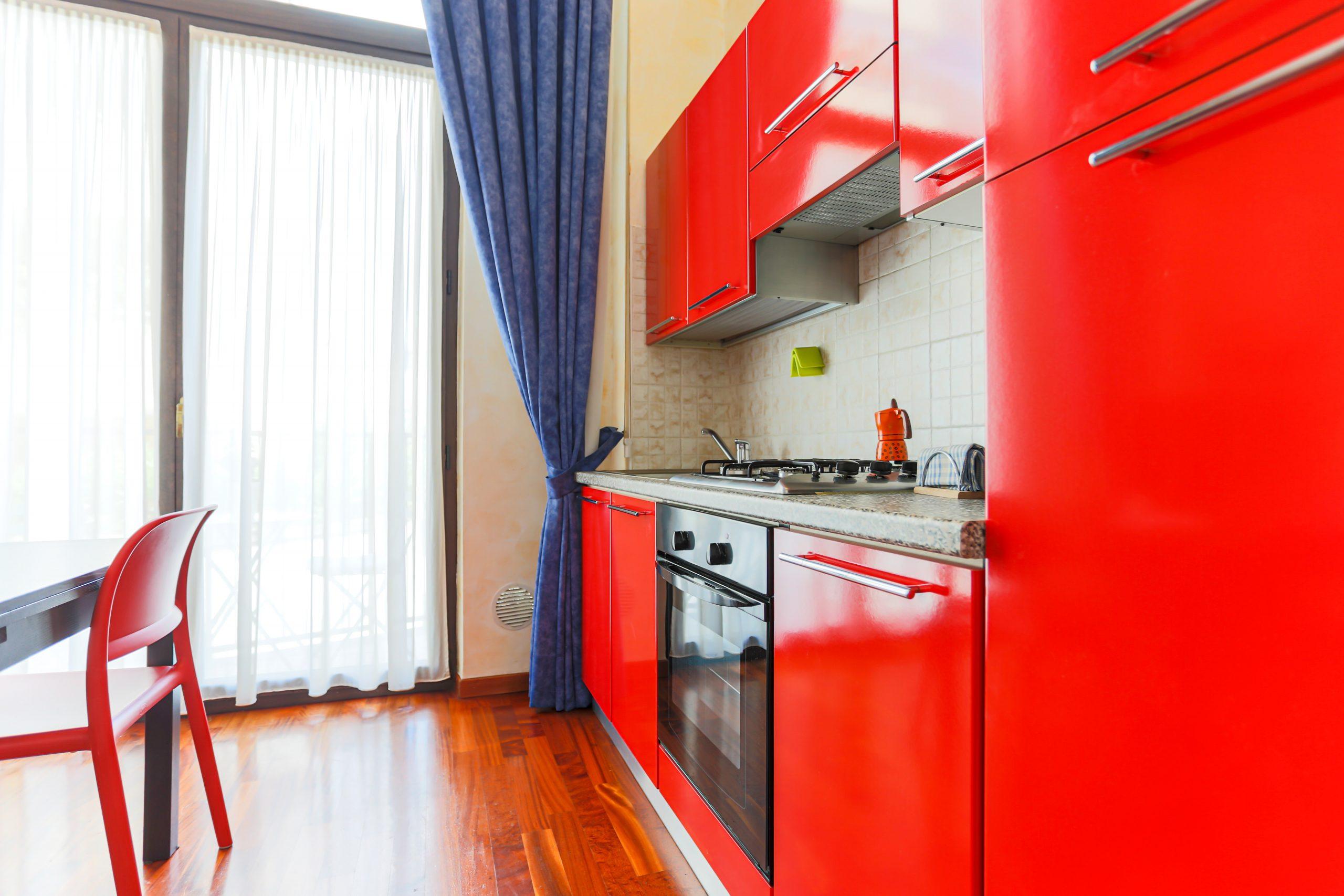 loft orione chiaralba cucina